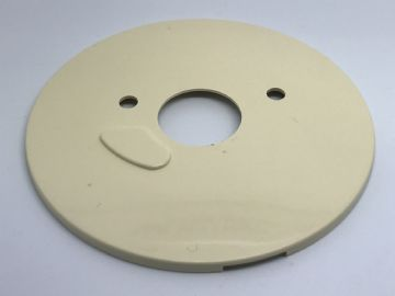GPO 700 SERIES LACQUER RED PLAIN TELEPHONE DIAL BACKING PLATE